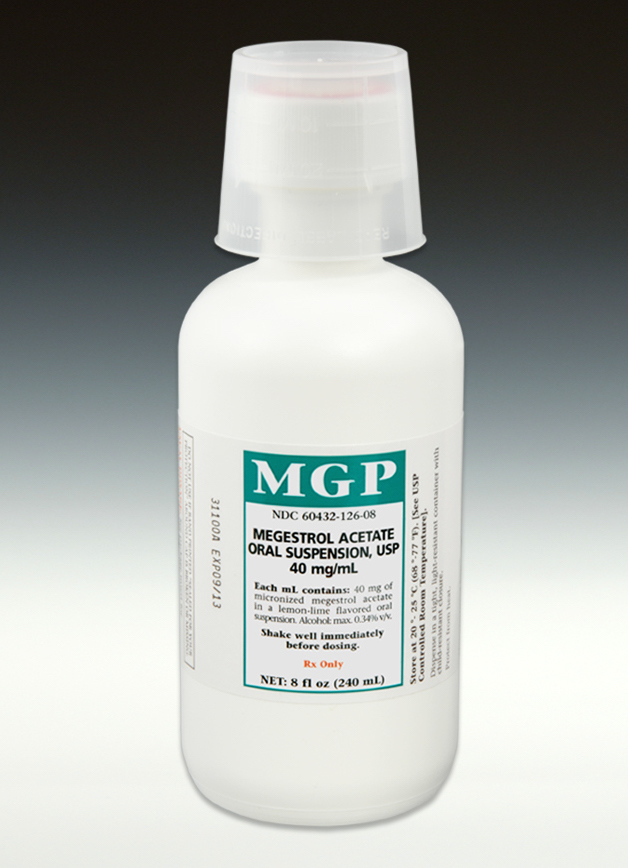 Megestrol Acetate Oral Suspension 40mg/mL