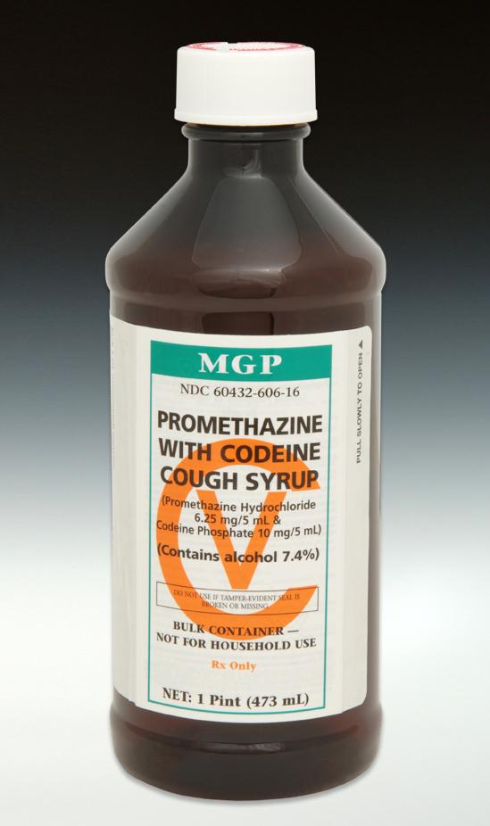 Promethazine W Codeine Cough Syrup Cv